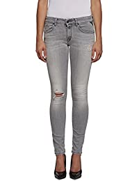 Replay Damen Jeanshose Luz Back Zip