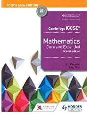 Cambridge IGCSE Mathematics Core and Extended 4th edition South Asia