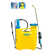 GLORIA Haus- und Gartengeräte GmbH Hobby 1200, 12 litres Backpack Sprayer with Pressure Regulator