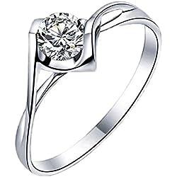 DaoRier 1 pc anillo de plata plateado anillo de mujer de niñas de la de los hombres anillo de animal exquisito anillo de acero inoxidable joyería y accesorios