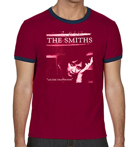 Morrissey and The Smiths Herren Top Gr. X-Large, Rot - Rot