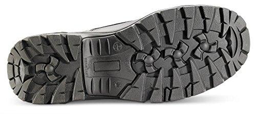 B-Click Schuhe B-Click Gummi/PU S3 Sicherheitsschuhe Braun