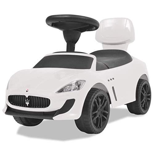 COIL Kinderfahrzeuge Kinderauto Rutschauto Rutscher Spielzeug für Kinder Spielzeugauto (White Maserati)