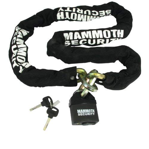 LOCMAMSS01 - Bike It Mammoth Hexagon Lock and Chain 1.8m -