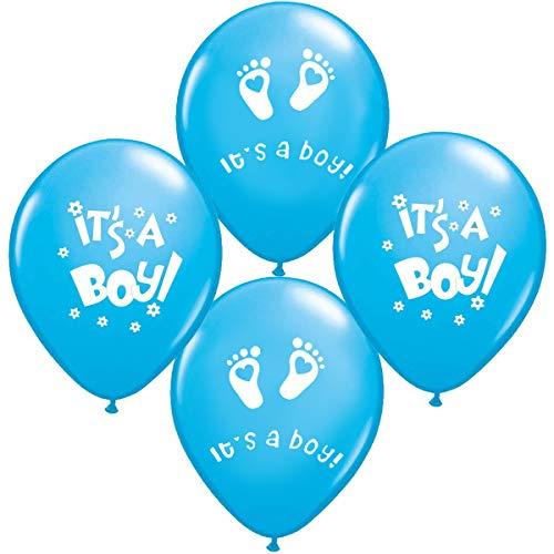 25 x Its a Boy Luftballons Babyshower Party , Babyballons , Babyparty , Pullerparty , Bebek