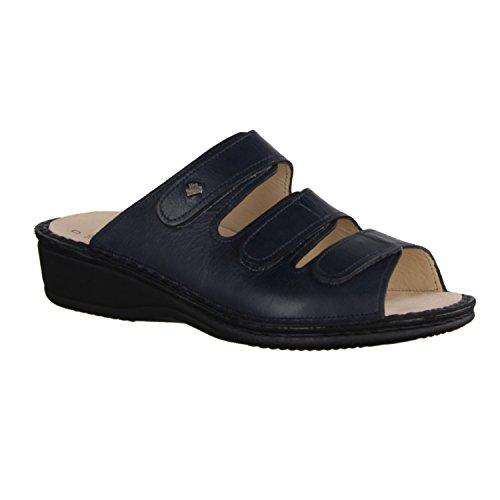 Finn Comfort Pisa, da donna, con zeppa, con motivo a sandali Blu