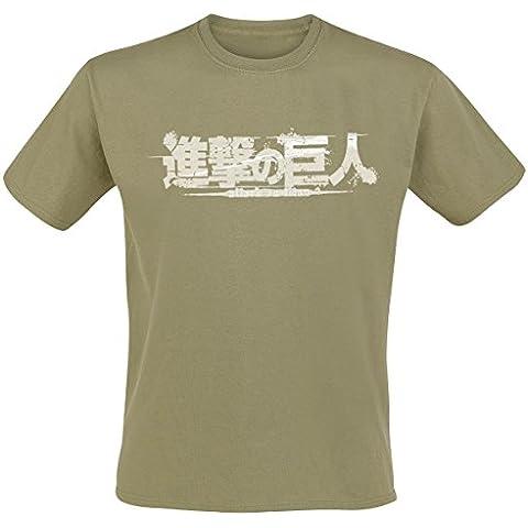 Nekowear - T-Shirt - L'attaque des Titans - Scout Kaki Taille M - 3700469612604