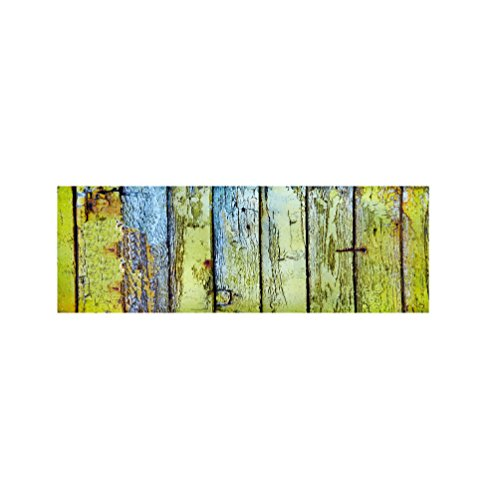 Fußabtreter innen-und außenbereich teppich küche schlafzimmer bad anti-rutsch-matte saugfähig weiche grün-A