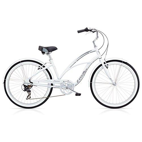 Electra Cruiser Lux 7D Damen Fahrrad Weiß 26 Zoll Beach Cruiser Retro Rad 7 Gang Schaltung, 539856 (Damen-fahrräder, Cruiser 26 Zoll)