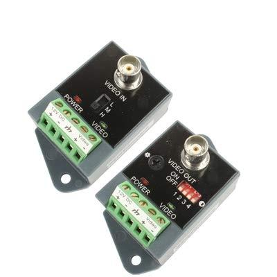 Security Accessory Sicherheitszubehör aktive CCTV utp Twisted - Pair - Video balun Sender und empfänger Aktive Utp Video