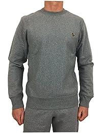 Paul Smith PS by Men's Organic Cotton Zebra Sweatshirt Grey
