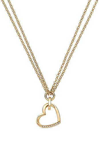 JETTE-Magic-Passion-Damen-Kette-Metall-9-Kristall-gold-One-Size