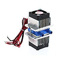 Andoer TEC Electronic Semiconductor Thermoelectric Cooler Peltier Refrigeration TEC1-12706 Cooler+Water Cooling System