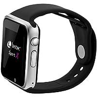 Leotec Smartwatch Sport X - Smartwatch,GPS real,Android,Sim 3G,Camara incorporada, monitor de actividad, Compatible Android y notificaciones inteligentes, color Negro