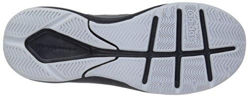 Chaussures Adidas Performance Cloudfoam VENTILATION Basket-ball, noir / blanc / blanc, 6,5 M Us Gris