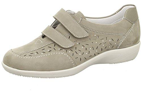 ara Velcro delle donne Scarpa Como 12-37538-06 grigio pistola grigio grau/kombi