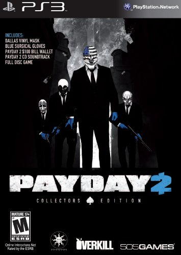 PayDay 2 Collector's Edition PS3 (USA IMPORT) (Picks Playstation)