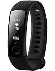 Huawei Honor Band 3 Fitness Wristband Pulse Monitor Tracker Waterproof Sleep Monitor Calorie Counter GPS Route Tracking Bluetooth Sport Smart Watch for Women Men with iOS Android