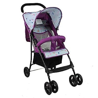 Leichter Kinderwagen, Kinderwagen Mit Regenschirm, Zusammenklappbar, Reisefreundlich, Kinderwagen