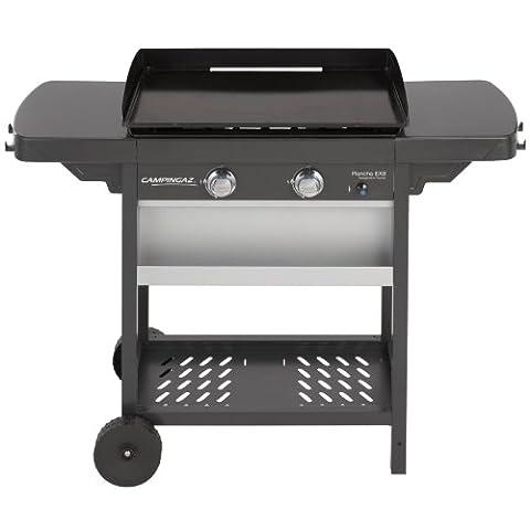 Barbecue Gaz Campingaz - Campingaz Plancha Gaz Extensible sur Chariot Acier