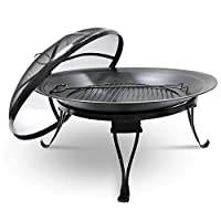 FIREPIT 26D X 19H- Grill Smoking Boards