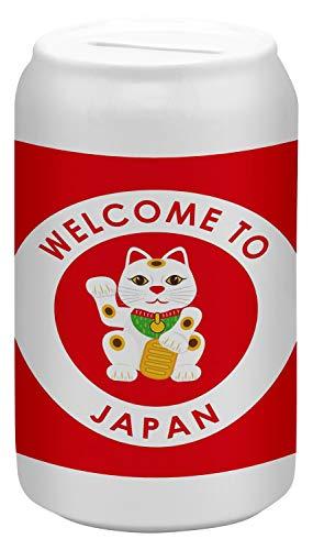 Hucha Viaje Por El Mundo Japón Ceramica impreso