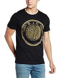 Arrow Mens T-Shirt (8907538773517_AJUTS3702_Small_Black)
