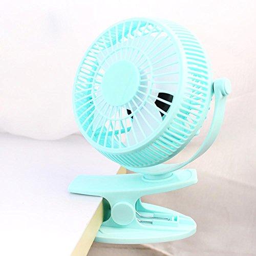 Fansole Mini ventiladores con alimentación USB portátil clips de oficina de escritorio...