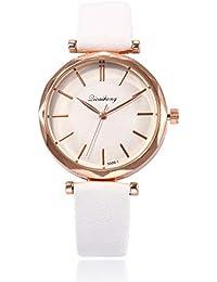 Señora Reloj Fashion Simple Scale Leisure Belt Lady Watch