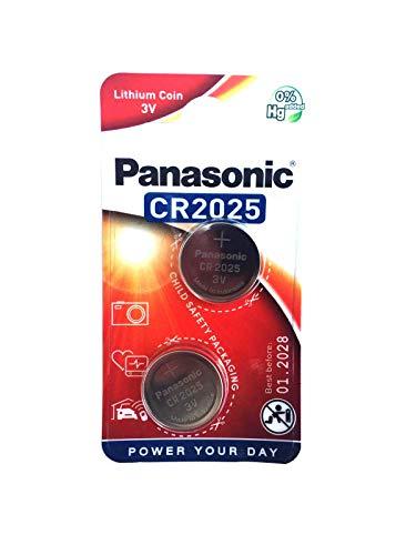 Panasonic 403 Lithium Knopfzellen Batterie CR 2025 Cr2025 3v Batterie