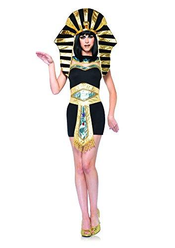 Leg Avenue Queen Tut Costume (M/ L, Black/ Gold)