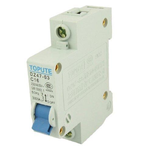 Bemessungsstrom 16A AC 400V Single Pole MCB Mini Air Circuit Breaker - Single-circuit Air