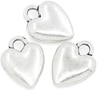 100Pc 4mm antike runde Rondelle Spacer Perlen DIY Halskette Armband Ohrringe