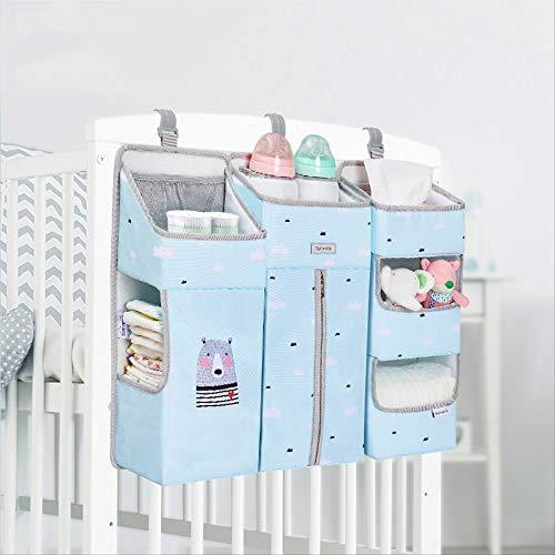 SJRYXCD Bettwäsche Sets Tragbare Baby-krippenveranstalter Bett Hängebag Für Baby-Essentials Diaper Storage Cradle Bag Bedding Set Diaper Caddy