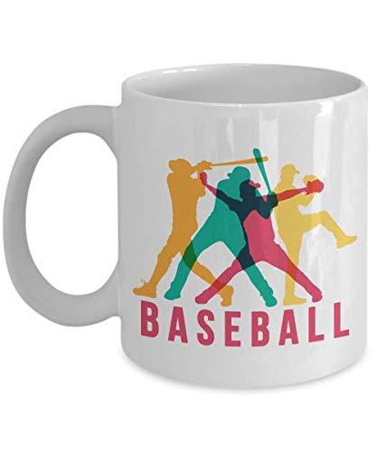 Baseball Coffee Mug - Major League Baseball Team - Present For Family Friend Brother Sister Boyfriend Dad Husband Sports Fan Coach Player 11 Oz