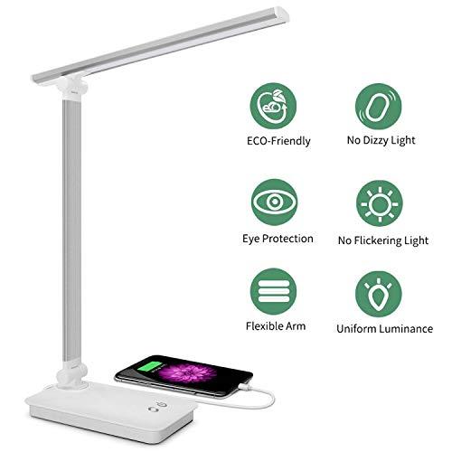 SaponinTree Lámpara Escritorio LED, Lámparas de Mesa USB ...