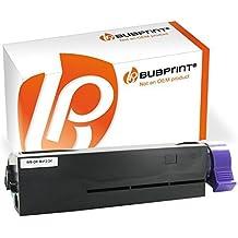 bubprint Toner Compatible para OKI B412 Negro (3000 S B412dn B432dn B512dn MB472DNW MB492dn MB562dnw 45807102