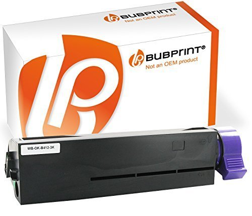 Bubprint Toner kompatibel für OKI B412 schwarz (3000 S.) B412DN B432DN B512DN MB472DNW MB492DN MB562DNW 45807102