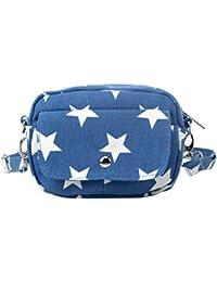 Rrimin Women's Mini Star Crossbody Bag Women Leather Handbags Shoulder Bag Clutches