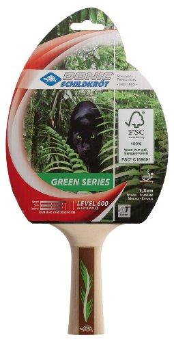 Donic-Schildkröt Schläger TT Green Series 600 Cartonhanger, schwarz rot, 734412