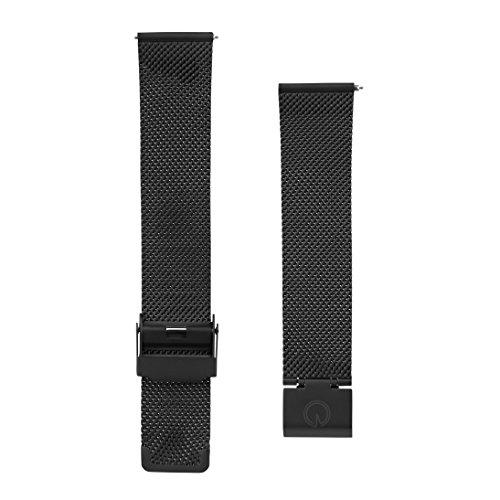 Herren auswechselbarem schwarz Stahl Mesh 20mm Uhrband passt–Daniel Wellington, MVMT Uhren