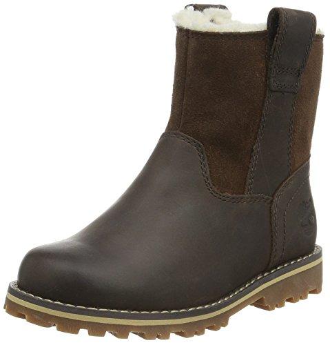 Timberland Unisex-Kinder Asphalt Trail_Asphalt Trail_Chestnut Ridge Warm-Lined Kurzschaft Stiefel Braun