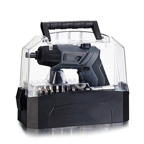 Akkuschrauber 3,6-V-Elektroschrauber Drehmoment 3,5 Nm 90 ° -Drehung, LED Licht, USB-Ladeschnittstelle, Handschrauber
