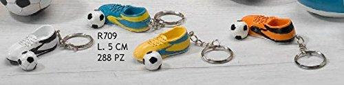 Subito disponibile portachiavi scarpetta calcio con pallone bomboniera 1 a scelta