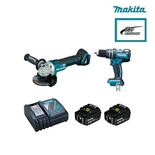 Preisvergleich Produktbild Makita–Kit Combo DGA504Z + DHP480Z