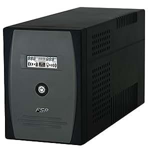 FSP 2000VA UPS 4x IEC 2x UK RJ11 RS232 USB Socket