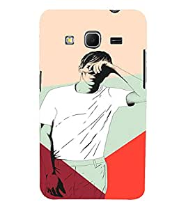 PrintVisa Man Blinded Lights 3D Hard Polycarbonate Designer Back Case Cover for Samsung Galaxy Core Prime G360