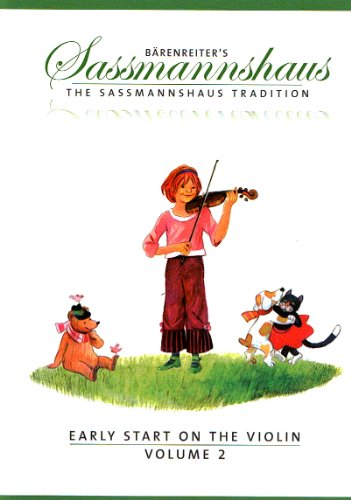 SASSMANNSHAUS - Primeros Pasos Vol.2 (Metodo) para Violin