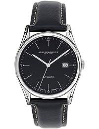 5f33245f6615 Abeler   Söhne fabricado en Alemania Reloj Automático para Hombre con Correa  de piel