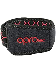 Opro IT Band Strap, Knee Support Unisex Adulto, Black, One Size